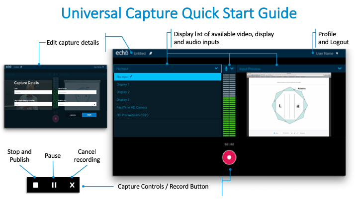 Universal Capture Quick Start Guide