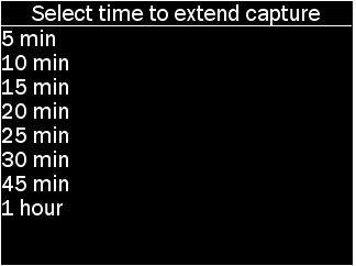 extend capture options for POD as described
