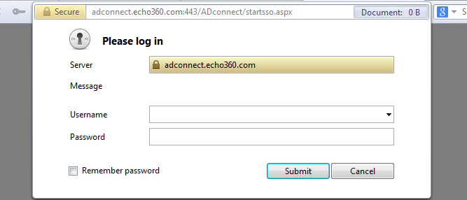 SSO login example as described
